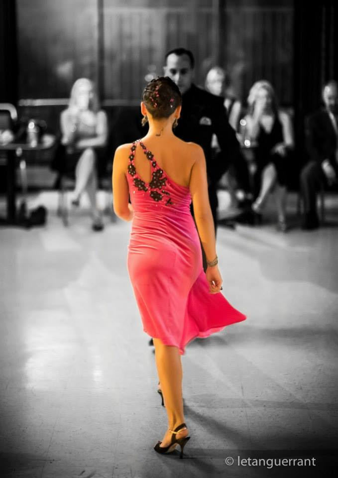 le tanguerrant so tango argentine pink dress