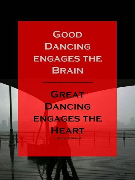 great dancing engages the heart tango