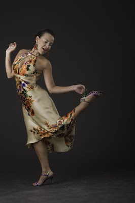 virginia pandolfi floral dress tango