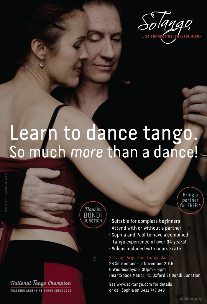 bondi junction tango lessons